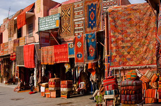 Morocco - Local Market in Morocco