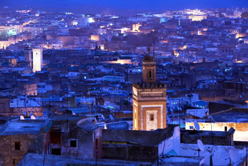 Morocco - Night view