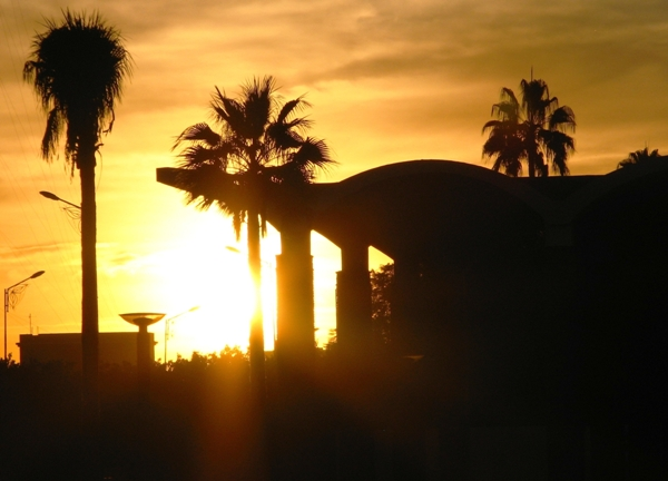 Morocco - Sunset in Marrakesh