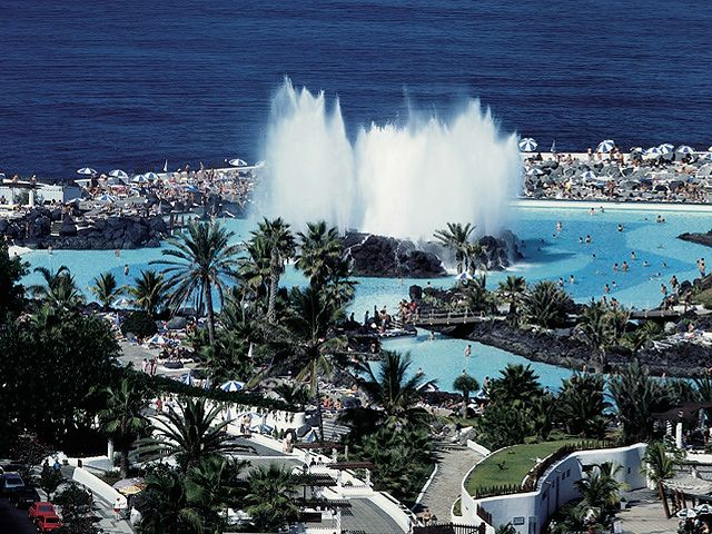 Octopus Waterpark, Tenerife, Spain - Octopus Waterpark view