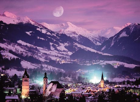 Kitzbuhel in Austria - Kitzbuhel night view