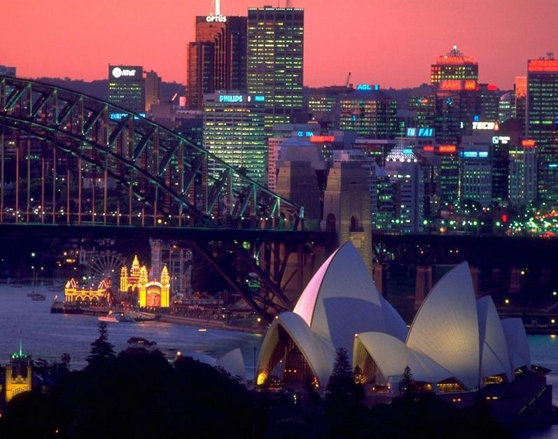 Australia - Breathtaking view on Sydney