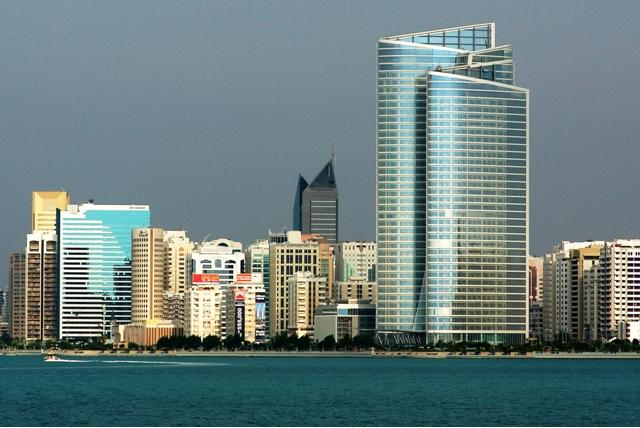 United Arab Emirates - View on Abu Dhabi
