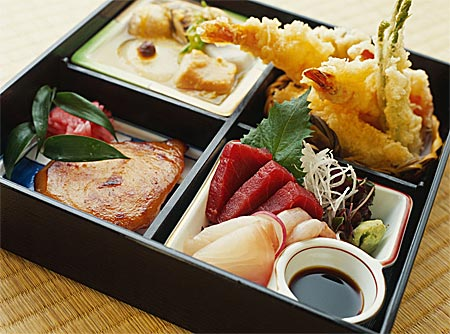 Japan - Traditional Japanese meal