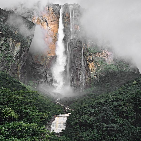 Angel Falls in Venezuela - The world