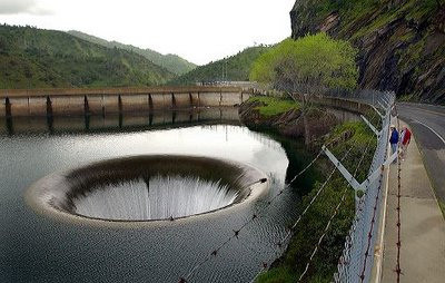 The Monticello Dam, Napa County, California, USA - Monticello Dam general view
