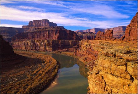 The Grand Canyon in Arizona, USA - Panoramic setting