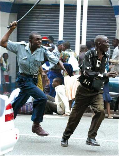 Police Brutality in Zimbabwe