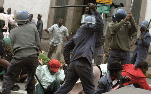 Violence in Zimbabwe