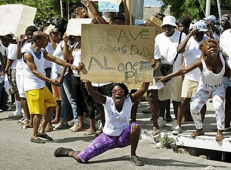 Jamaica - Jamaica demonstration