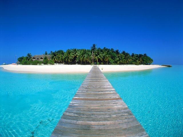 Maldives - Breathtaking natural setting