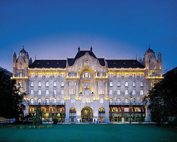 Four seasons hotel in budapest the best luxury hotels in for Top 10 design hotels europe