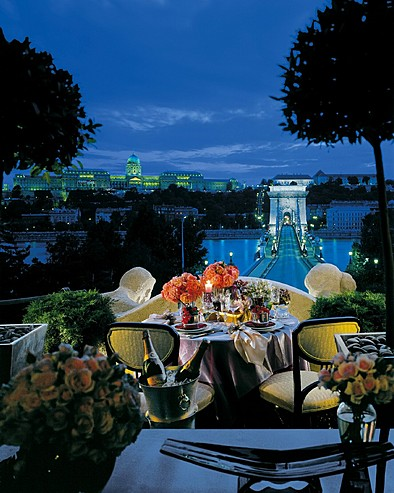 Four Seasons Hotel in Budapest - Splendid scenery