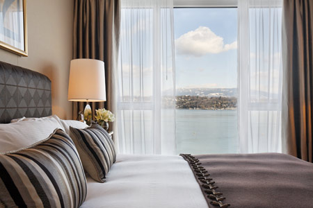 The President Wilson Hotel in Geneva - Suite view