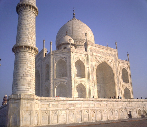 Taj Mahal - Side view