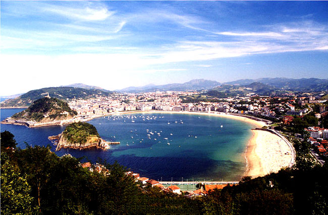 San Sebastian in Spain - San Sebastian overview
