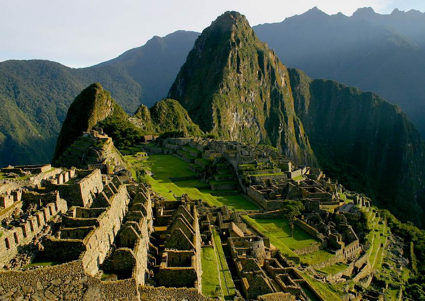 Machu Picchu - General view of the ancient city