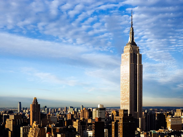 Empire State Building in New York - General view