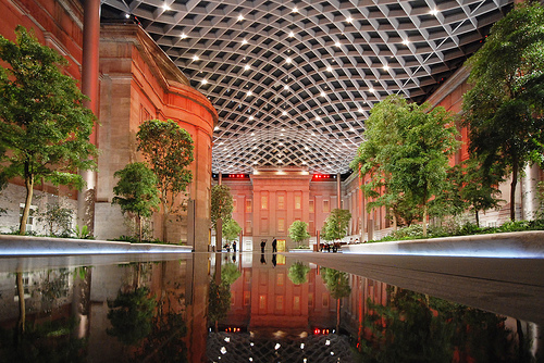 Kogod Courtyard in Washington D.C. - Picture of Kogod Courtyard