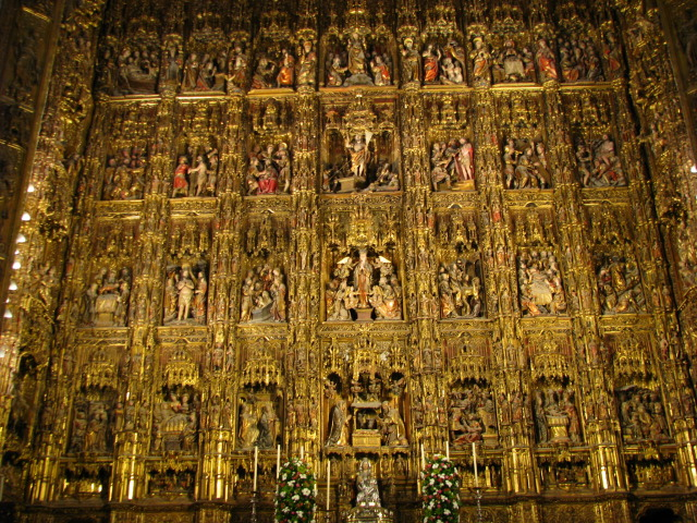 Cathedral of Sevilla - Altarpiece