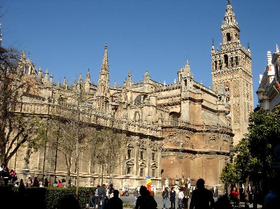 Cathedral of Sevilla - Cathedral of Sevilla view