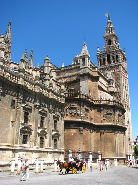 Cathedral of Sevilla - Cathedral view