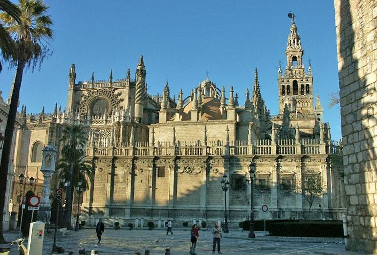 Cathedral of Sevilla - Seville Cathedral view