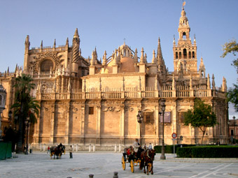 Cathedral of Sevilla - View of the Cathedral of Sevilla