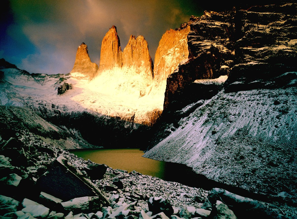 The National Park Torres del Paine, Chile - Enchanting View on the park