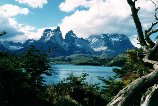 The National Park Torres del Paine, Chile - General view
