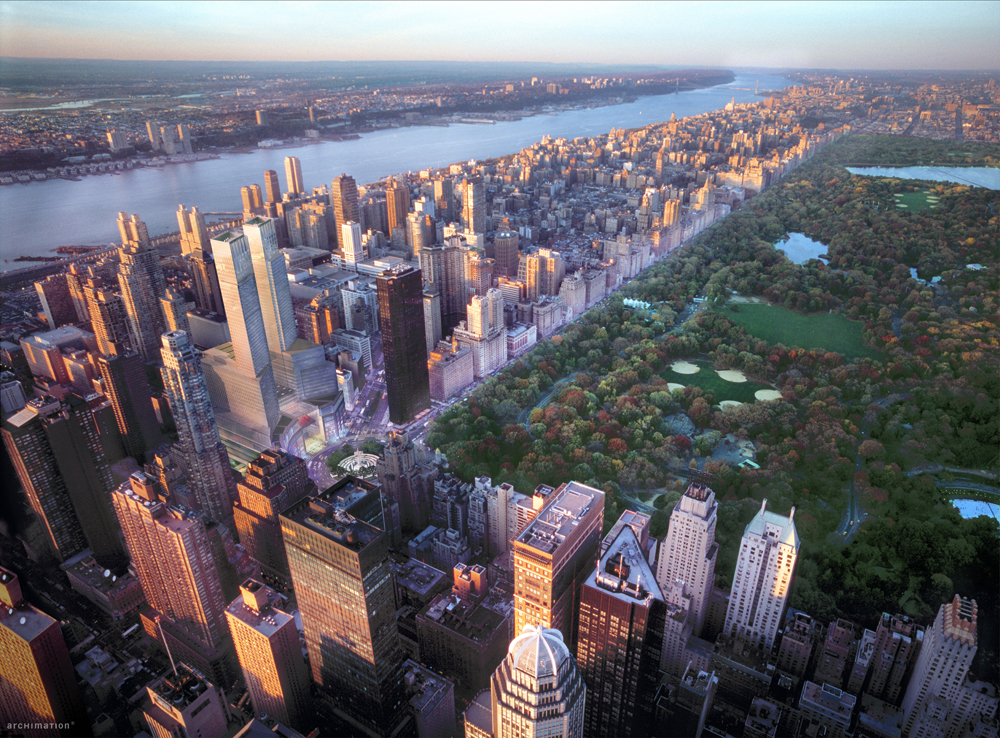 Mandarin Oriental New York - Central Park panorama