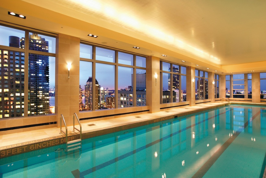 Mandarin Oriental New York - Fitness Pool