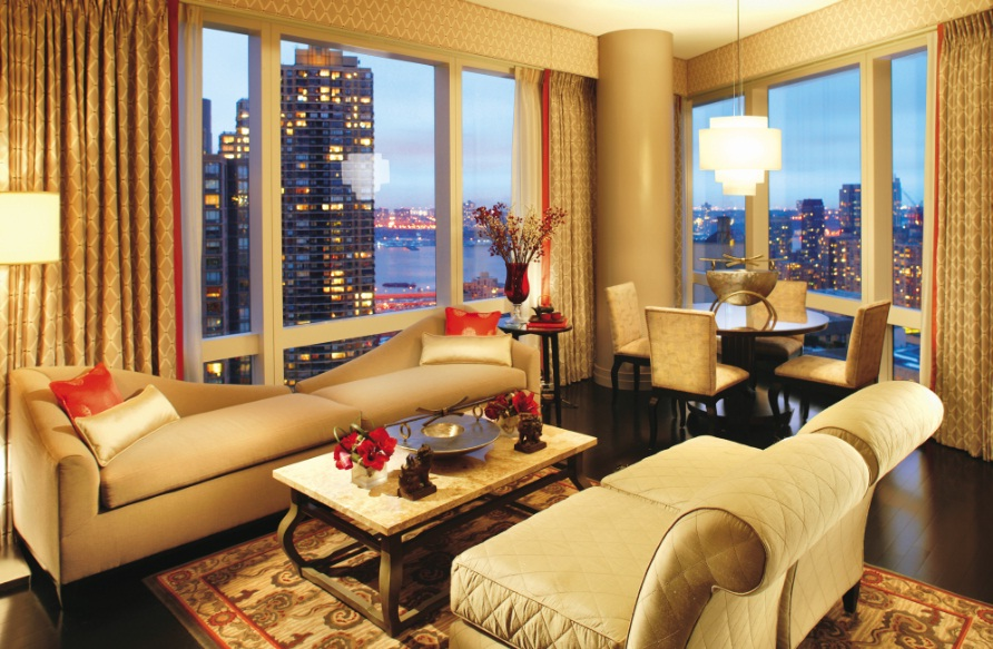 Mandarin Oriental New York - Luxury and exuberance