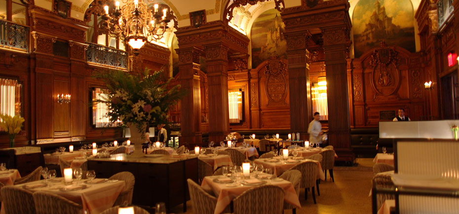 The plaza hotel new york the best 5 star hotels in new for Best dining rooms nyc