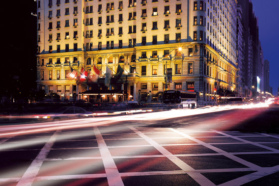 The Plaza Hotel New York - Exterior view