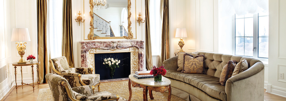 The Plaza Hotel New York - Luxury and exuberance