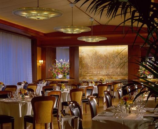 Four Seasons Milano Restaurant View