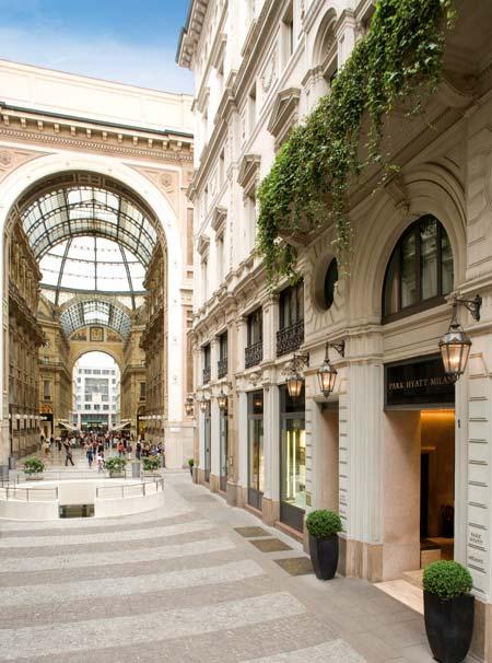 Park hyatt milano the best 5 star hotels in milan italy for Hotel the best milano