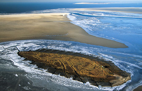 Wadden Sea - Aerial view