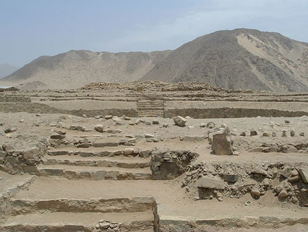 Caral-Supe City - Antique relics