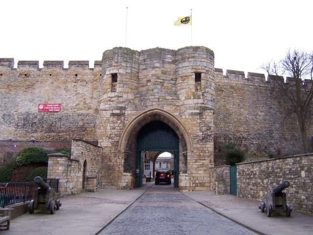 Lincoln Castle in UK - Ancient dwelling