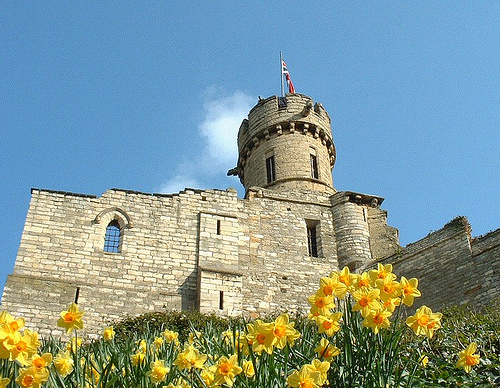 Lincoln Castle in UK - Castle view