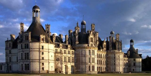 Chambord Castle - General view