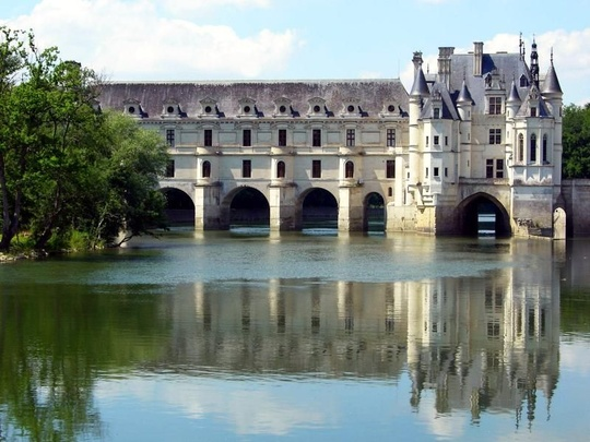 Chenonceau Castle in France - Castle picture