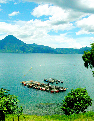 Lake Atitlan in Guatemala - Great natural scenery