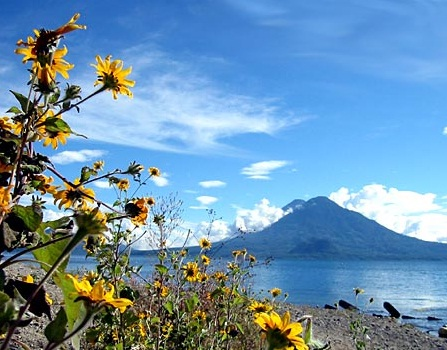 Lake Atitlan in Guatemala - Incredible vistas