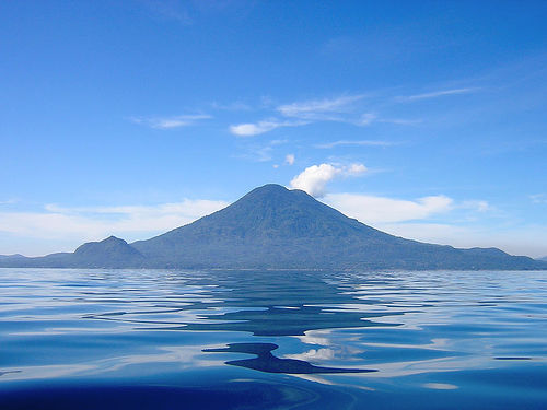 Lake Atitlan in Guatemala - Unreal landcape