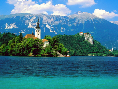 Lake Bled in Slovenia - Excellent scenery