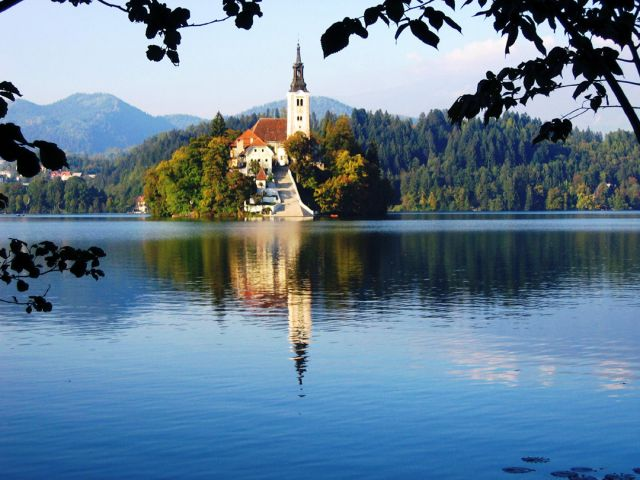 Lake Bled in Slovenia - Picturesque setting