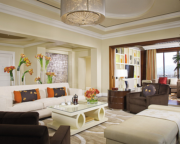 Four Seasons Beverly Wilshire - Penthouse living room
